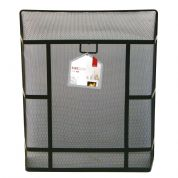 Large Heavy Duty Fireguard (black) DEV 153